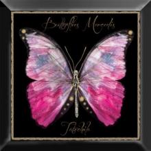 Декор Farfalla rosa negro (30х30) * купить
