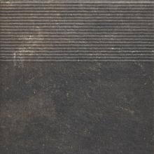 Клинкер ступень прямая структурная Scandiano Brown Stopnica Prosta (30x30) 0,9  купить