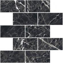 Мозаика BLACK & WHITE K-61 LR m13 черная (30,7х30,7х1) купить