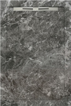 Душевой поддон SLOPE FIORI DI PESCA Grey line (80х120) 40030210250200 купить