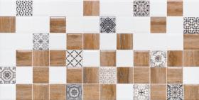 Декор 2 АСТРИД 1041-0239 белый (20х40) купить