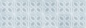 Плитка настенная Lissabon LBU333 рельеф квадраты сине-зеленый (25x75) купить