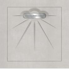 Душевой поддон MULTI BETON White Linear Massive (90х90) 40020310130100 купить