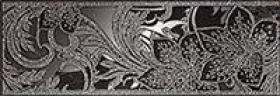 Бордюр Азур графит 1501-0047 (25 х 8,5) купить