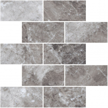 Мозаика BLACK & WHITE K-62 LR m13 серая (30,7х30,7) купить
