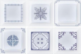 Декор Décor Mix Cube Cobalto (10x10) купить