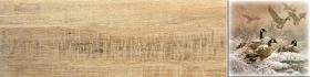 Вставка Дуб 3 палевый птицы (60х15) купить