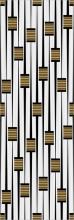 """Плитка облицовочная """"Ковчег"""" серый декор (60х20) 00-00-5-17-01-06-943 купить"""
