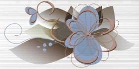 Декор Меланж голубой (50х25) 10-03-61-442 купить