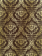 Декор КАТАР коричневый 1634-0091 (25х33) купить