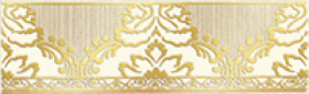 Бордюр КАТАР белый средний 1502-0575 (25х7,5) купить