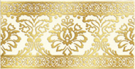 Бордюр КАТАР белый широкий 1502-0610 (1502-0573-старый код) (25х13) купить