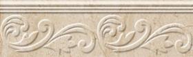 Бордюр Petrarca fusion Бежевый  рельефн. М91321 (30х9) купить