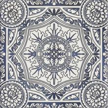 """Керамогранит Ceramika Paradyz """"Sevilla Azul Decor E"""" (19,8x19,8) купить"""