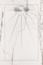 Душевой поддон MULTI INFINITY White Linear Massive (90х135) 40010410130100 купить