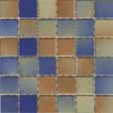 Мозаика керамогранит Сolorline k5089934 mix 2 табачно-голубой 5х5см (30х30) купить