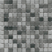 Мозаика керамогранит Сolorline k5114934 mix 6 серый 2,5х2,5см (30х30) купить
